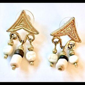 Vintage boho dangle earrings